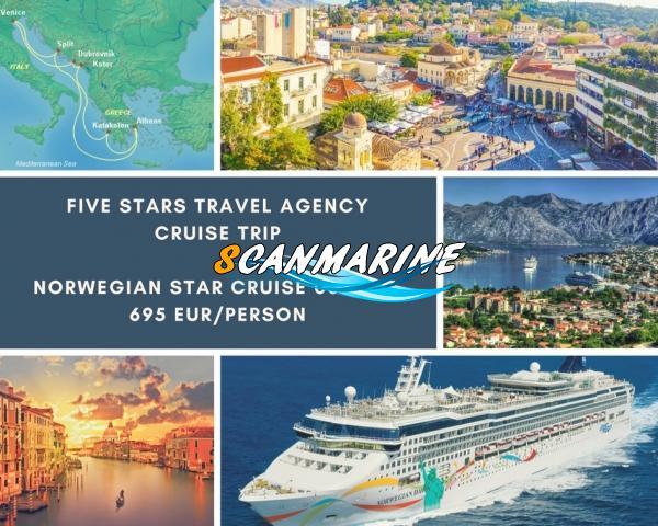 Осенний круиз от Five Stars Travel Agency!! 8 дней! Италия, Хорватия, Черногория и Греция!