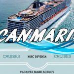 🛳Круиз MSC DIVINA из Рима по Средиземноморью!! 6 ночей Внутренняя каюта — 420 евро;🛳